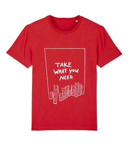 "TWYN – Unisex Shirt ""red"""