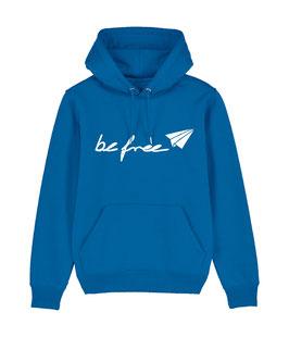"""be free Logo – Unisex Hoodie """"blue"""""""