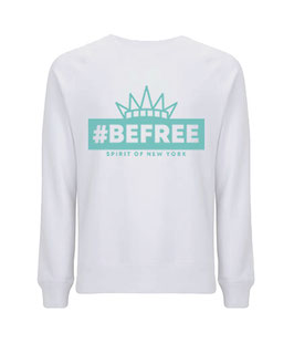 "#befree - ""Spirit of New York"" Unisex Sweatshirt white"