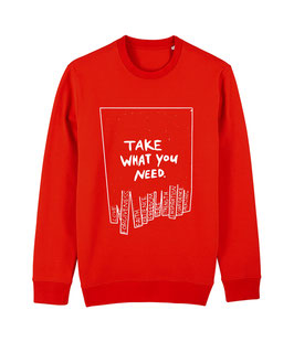 "TWYN – Unisex Sweatshirt ""red"""