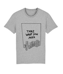 """TWYN – Unisex Shirt """"melange grey"""""""