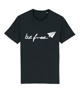 "be free Logo – Unisex Shirt ""black"""