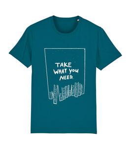 """TWYN – Unisex Shirt """"ocean"""""""
