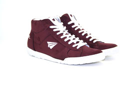 be free – Sneaker High-Cut bordo
