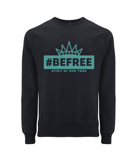 "#befree - ""Spirit of New York"" Unisex Sweatshirt black"