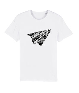 "be free ""Flyer"" – Unisex Shirt ""white"""