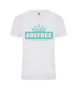 "#befree - ""Spirit of New York"" Unisex Shirt white"