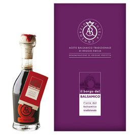 ORANGE Aceto Balsamico Tradizionale DOP bollino ARAGOSTA - Traditional Balsamic Vinegar PDO ORANGE label