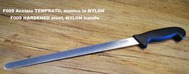 Coltello TAGLIO prosciutto, acciaio TEMPRATO - CUTTING KNIFE for ham, HARDENED steel