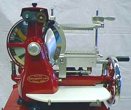 V25 Affettatrice a Volano per mezzo prosciutto- Flywheel Slicer V25 for half ham