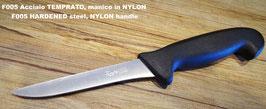 Coltello per il DISOSSO prosciutto, acciaio TEMPRATO - BONING KNIFE for ham, HARDENED steel