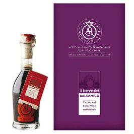 ORANGE Aceto Balsamico Tradizionale DOP bollino ARAGOSTA - Traditional Balsamic Vinegar PDO ORANGE label