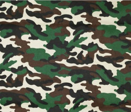Stof Camouflage print