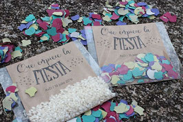 Packaging 'Que empiece la fiesta'