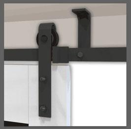 Schuifdeursysteem Plafond Type Recht