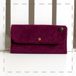 Portemonnaie Claudi - lila Cord