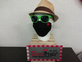 """""""Tirol-Maske"""" Mund- und Nasen-Maske gestickt - """"Adler"""" (keine medizinische Maske)"""