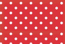 04022 Baumwolle Westfalenstoff rot Punkte