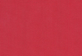 04025 Baumwolle Westfalen rot Pünktchen