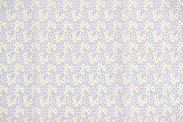 06002 Baumwolle Margeriten klein pastell neonorange