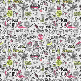 06031 Baumwolle rosaneon