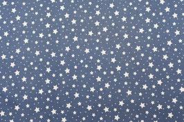 0211 Jersey Sterne blue C. Pauli Interlock Bio