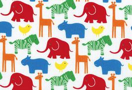 04024 Baumwolle Westfalenstoff Tiere Afrika