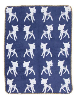 "Bambi Blanket  Blue  - Light Blue ""The Limited Edition"" 75 x 100cm"