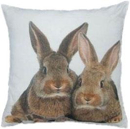 Tiermotivkissen Kaninchen - 50 x 10 x 50 cm