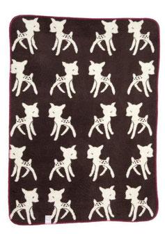 Bambi Blanket Small Espresso 75 x 100cm
