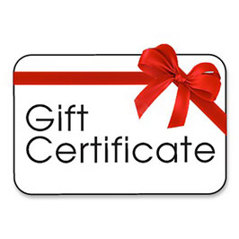 GIFT CERTIFICATE FOR FRIENDS & FAMILY