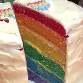 Rainbow Layer Cake *
