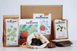 """Rankwerk Saatgut - Box """"Gartenjahr"""""""