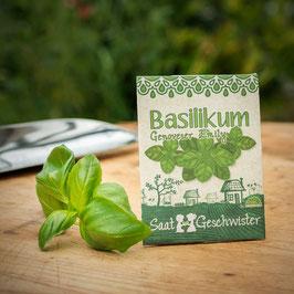 Saatgeschwister - Basilikum