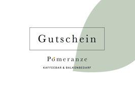 Pomeranze Gutschein