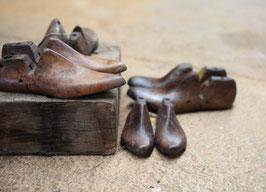 Schuhform Holz Unikat