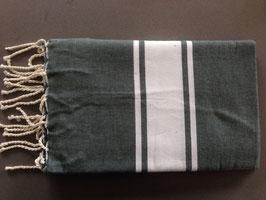 Fouta/ Hammam- Tuch dunkelgrün