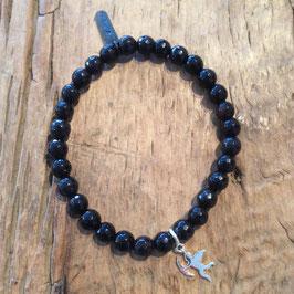 1er Bracelet Schwarz
