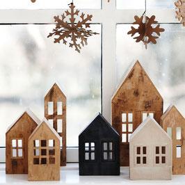 Zimt- und Powder- Stone Häuser