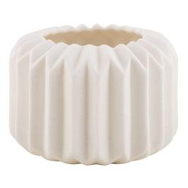 Gefaltene Vase/ Windlicht S