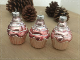 Cupcake- Kugeln rosa