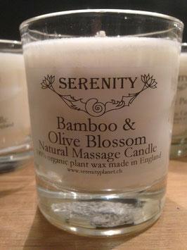 Duftkerze Bamboo & Olive Blossom