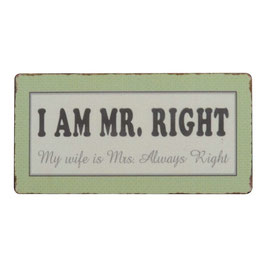 Magnet I AM MR. RIGHT