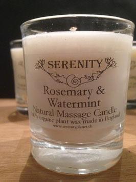 Duftkerze Rosemary & Watermint