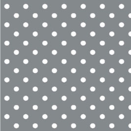 Serviette graue dots