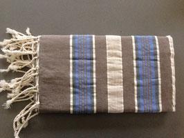 Fouta/ Hammam- Tuch blau