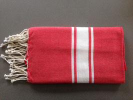 Fouta/ Hammam- Tuch rot-orange