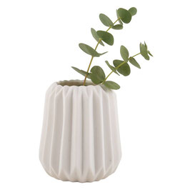 Gefaltene Vase M
