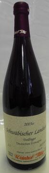 2015 Schwäbischer Landwein, Trollinger, halbtrocken, 10,5%