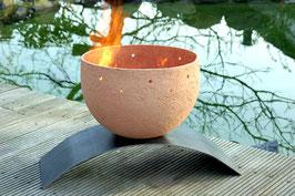 Feuerschale Vesuv groß – terracotta